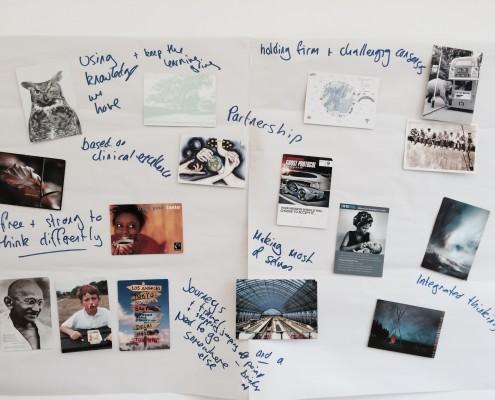 Postcards activity